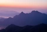 mountain  view  in Laos people's democratic  republic  , take