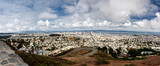 Panoramic view of San Francisco as see from Twin Peaks