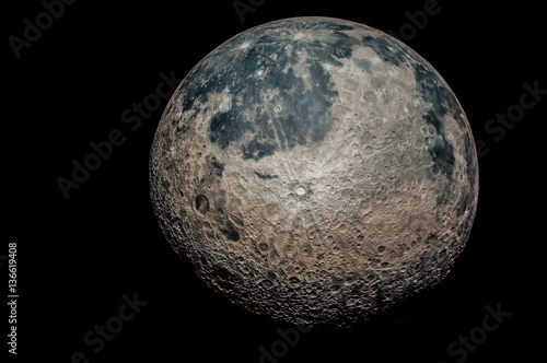 The moon, an astronomical body that orbits planet Earth Poster