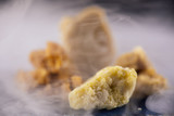 Assorted marijuana extraction concentrate aka wax crumble on smo