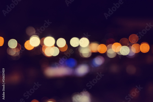 Billede Abstract Light Bokeh Background