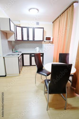 Fotobehang Koken Modern kitchen interior