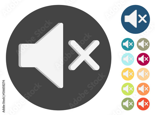 GamesAgeddon - 3D Icons - Lautsprecher lautlos - Lizenzfreie Fotos ...