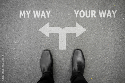 Poster My way or your way