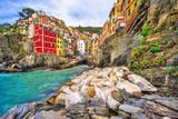 Riomaggiore, Cinque Terre National Park, Liguria, Italy