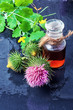 Постер, плакат: Flower and burdock extract