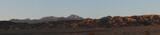 Mountain Sunset Death Valley panorama
