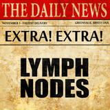 lymp nodes, article text in newspaper