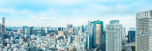 Fotobehang Lichtblauw 東京風景