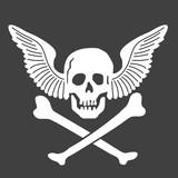 ドクロ 骸骨 ハロウィン