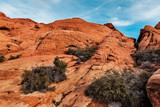 Landscape in Red Rock Canyon at Red Rock Canyon at southern Nevada, USA
