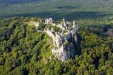 Gymes, slovakia mediaval castle, ruins of Gymes castle near Nitra - 136791461