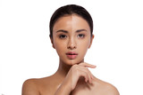 beauty asian skin healthy woman