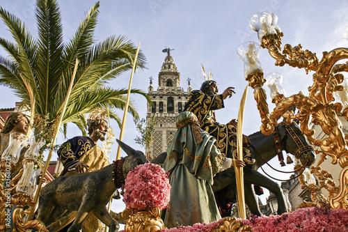 Hermandad de la Borriquita, semana santa de Sevilla