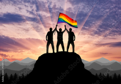 Poster Concept rights and freedoms of gays