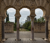 Medina Azahara. Important Muslim ruins of the Middle Ages; located on the outskirts of Cordoba. Spain