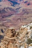 South Rim Grand Canyon Winter Landscape