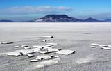 Lake Balaton in winter time, Hungary