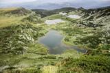 Lakes view in the Bulgarian mountain Rila