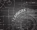 Teamwork Blackboard Machine