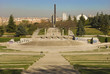 Parque público con anfiteatro