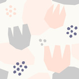 Abstract Floral Pattern - 136889885