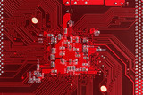 Red circuit board