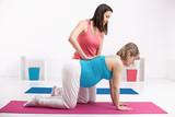 Pregnant Woman Exercices