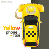 Taxi Yellow Phone