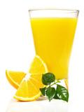 Orangensaft - Früchte