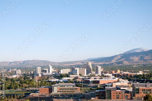 Foto op Aluminium Las Vegas Reno Nevada Downtown Skyline