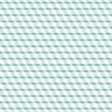Cubes pattern in blue