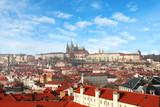 Vista di prega città