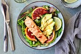 Salmon and Avocado Salad - 137006459
