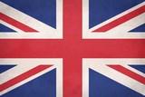 Grunge United Kingdom (UK) flag