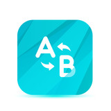 Creative Glass App Icon - Vector