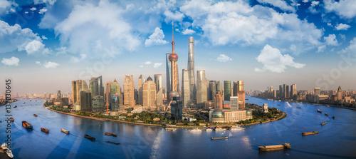 Foto op Aluminium Shanghai Shanghai city