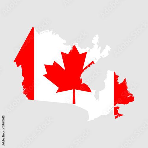 Canada Map Flag.Canada Map Flag Buy Photos Ap Images Detailview