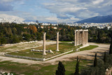 Columns Zeus in Athens, Greece
