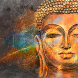 Fototapety Head Smiling Buddha