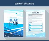 Business Brochure Illustration