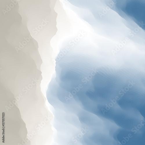 Fototapeta Blue Abstract Background. Design Template. Modern Pattern.
