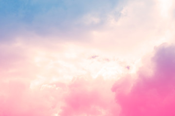 soft cloud sky abstract pastel colorful background