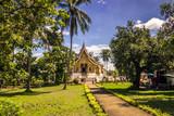 September 20, 2014: The Haw Pha Bang temple in Luang Prabang, La