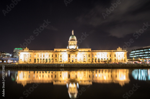 The Custom House , Dublin , Ireland Poster