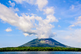 Ometepe Volcano Clouds