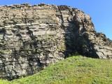 The hills and rocks of the Kola Peninsula
