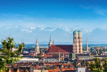 München Frauenkirche Munich Stock Photo
