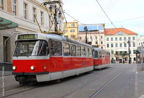 Poster bratislava tranvía ciudad 9183-f17