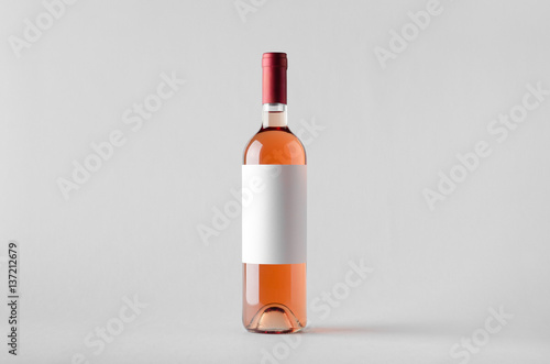 makieta-do-butelek-wina-pusta-etykieta